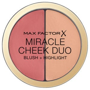 Max Factor Miracle Cheek Duo 20 Cream Peach and Champagne Closed