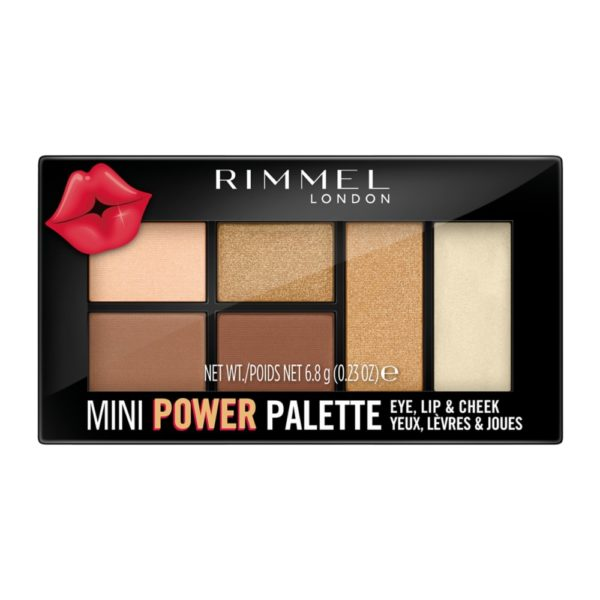 rimmel sassy power palette