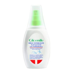 Glicemille Sanitizing Gel Detergent Spray 75ml