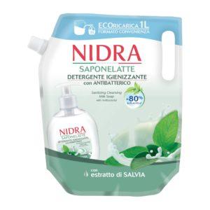 Nidra Eco Refill Liquid Soap antibacterial